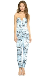 Keepsake Run Free Jumpsuit Frost Print