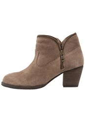Hush Puppies Kent Ankle Boots Beige Taupe