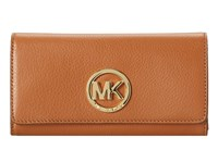 Michael Michael Kors Fulton Carryall Luggage Clutch Handbags Brown