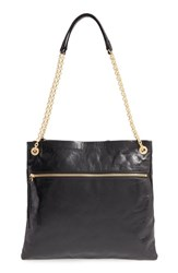 Hobo 'Dayna' Convertible Leather Shoulder Crossbody Bag Black