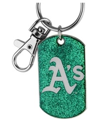 Aminco Oakland Athletics Glitter Key Ring Team Color