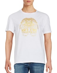 Laboratory Lt Man Two Tiger Graphic Tee White