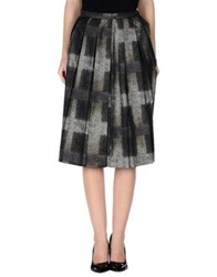 Daks London 3 4 Length Skirts Steel Grey