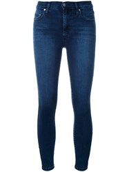 Nobody Denim Cult Skinny Ankle Rebel Blue