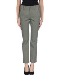 Strenesse Blue Casual Pants Military Green
