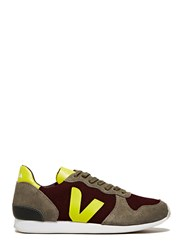Veja Holiday Canvas Low Top Sneakers Burgundy