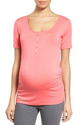 Nom Maternity Women's Ruched Nursing Tee
