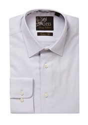 Skopes Men's Luxury Collection Formal Shirt Silver