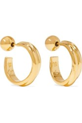 Sophie Buhai Gold Vermeil Hoop Earrings One Size