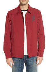 Nike Men's Sb Bolt Coach Jacket Team Red Reflect Black