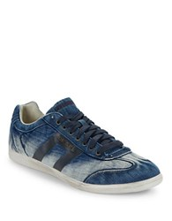 Diesel Happy Hours Vintagy Lounge Denim Sneakers Indigo
