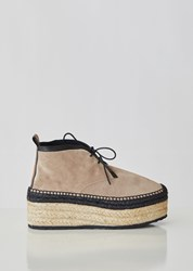 Pierre Hardy Alpha Espadrille Ankle Boots Calf Suede Calf Multi Beige Calf Suede Calf Multi Beige