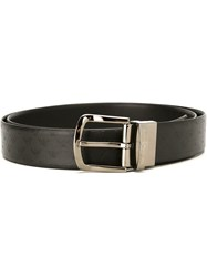 Emporio Armani Classic Buckle Belt Black