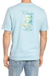 Tommy Bahama Men's Big And Tall Barcode Graphic T Shirt Opal