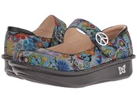 Alegria Paloma Hippie Chic Dottie Women's Maryjane Shoes Gray