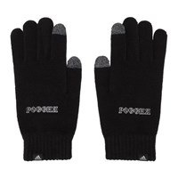 Gosha Rubchinskiy Black Adidas Originals Edition Knit Gloves