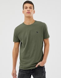 Abercrombie And Fitch Icon Logo T Shirt In Dark Green