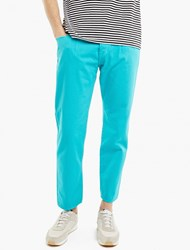 Ganryu Teal Pleated Dyed Jeans Blue