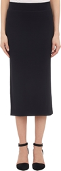 Atm Anthony Thomas Melillo Rib Knit Long Skirt Black