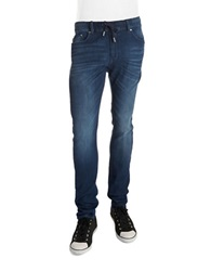 William Rast Denim Knit Joggers Blue