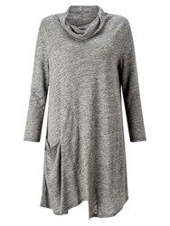 East Cutabout Seam Tunic Top Flint
