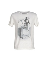 Mary Cotton Couture Topwear T Shirts Men White