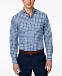 Vince Camuto Ombre Plaid Long Sleeve Shirt