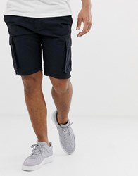 French Connection Millitary Cargo Shorts Navy