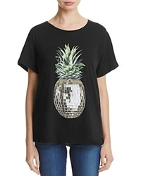 Wildfox Couture Party Pineapple Tee Clean Black