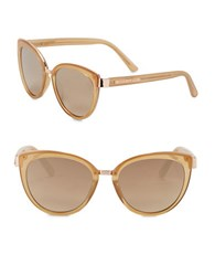 Vince Camuto 57Mm Cat Eye Sunglasses Natural