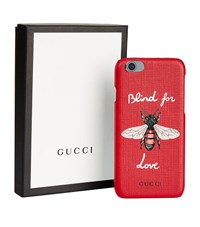 Gucci Bee Iphone 6 Case Female Red
