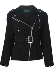 Jean Paul Gaultier Vintage 'Junior Gaultier' Biker Jacket Black
