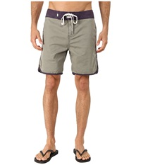 Quiksilver Street Trunks Scallop Walk Shorts Dusty Olive Men's Shorts
