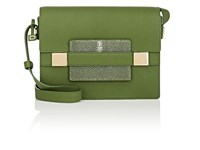 Delvaux Madame Pm Leather Shoulder Bag Empire Green