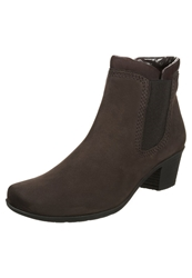 Gabor Ankle Boots Mocca Moro Brown
