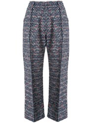 Coohem Tweed Cropped Trousers 60