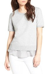 Trouve Women's Lace Tee