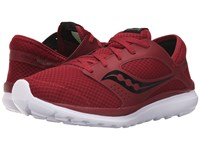 Saucony Kineta Relay Crimson Black Men's Running Shoes Red