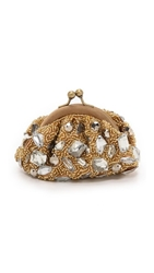 Santi Jewel Clutch Gold