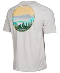 G.H. Bass And Co. Sunrise Graphic Print T Shirt Silver