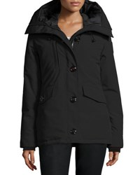 Canada Goose Rideau Hooded Parka Black
