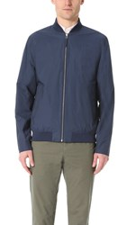 Norse Projects Ryan Crisp Cotton Bomber Jacket Navy