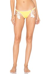 Ale By Alessandra Tie Side Brazilian Bottom Yellow