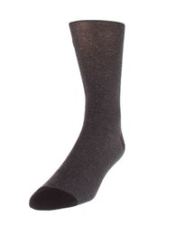 Cole Haan Dotted Crew Socks Black
