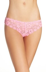 Honeydew Intimates Women's Camellia Lace Thong Bubble Pop