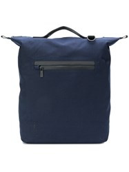 Ally Capellino Hoy Travel Cycle Rucksack Blue