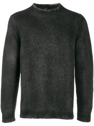 Avant Toi Knitted Sweatshirt Black