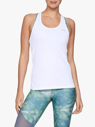Under Armour Racer Tank Top White