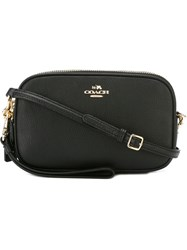 Coach Top Zip Crossbody Bag Black