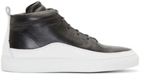 Public School Black And White Braebrun Sneakers